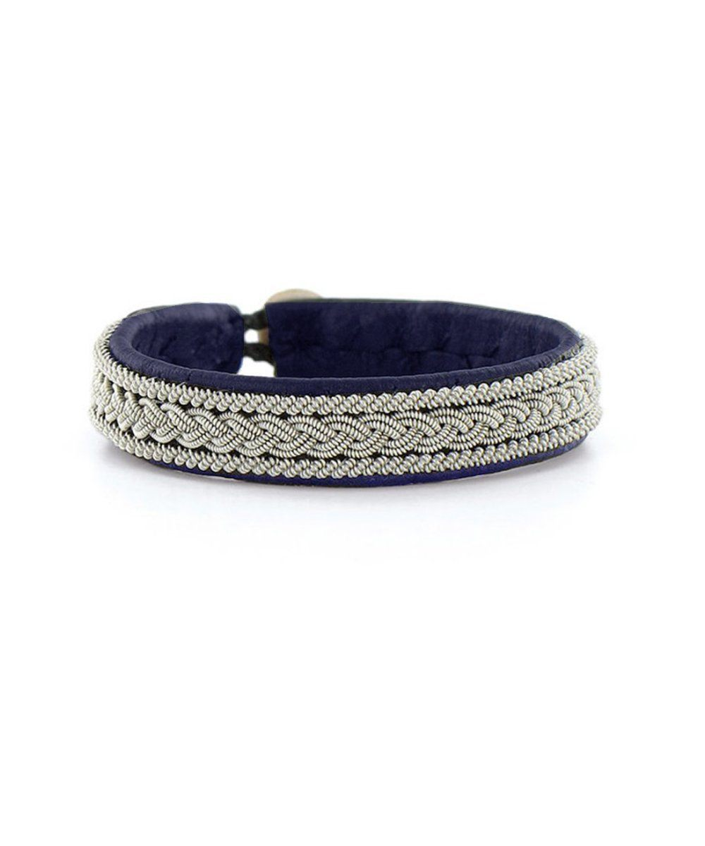 Hanna Wallmark Navy Light Bracelet