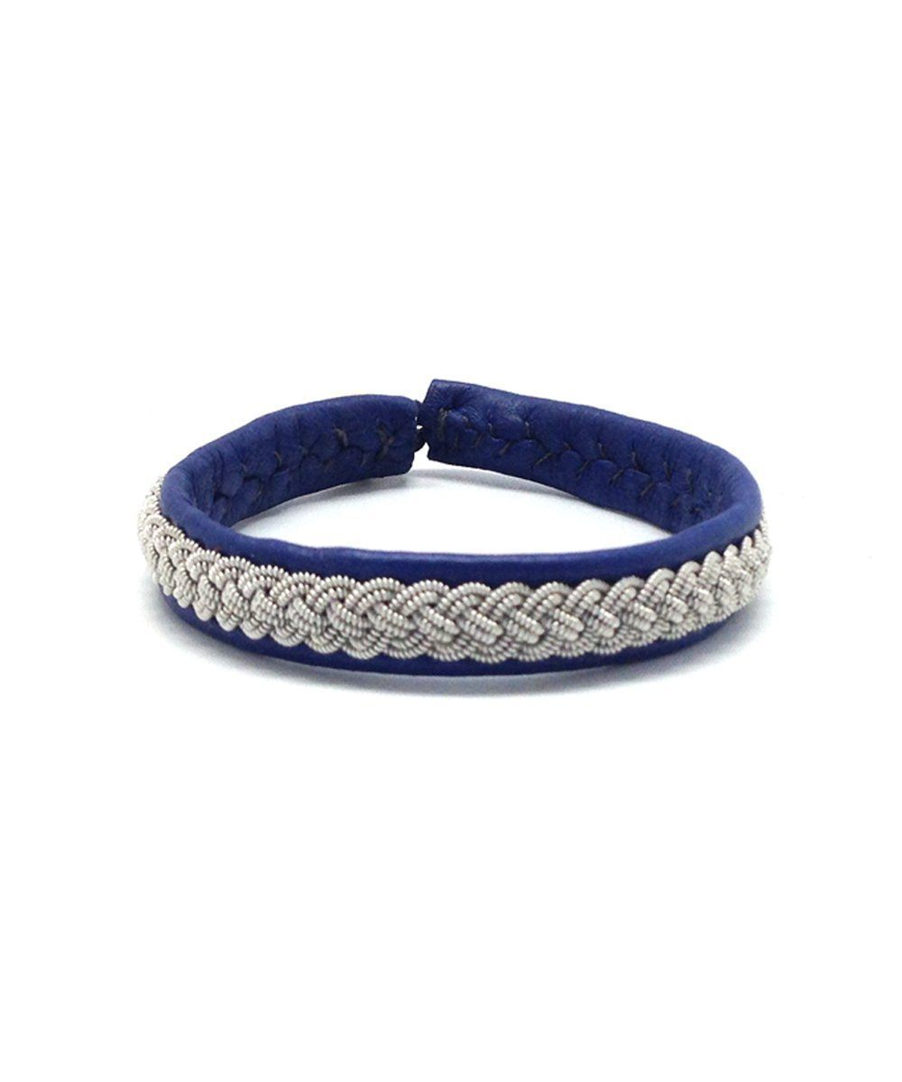 4 Blue Double Bracelet by Hanna Wallmark