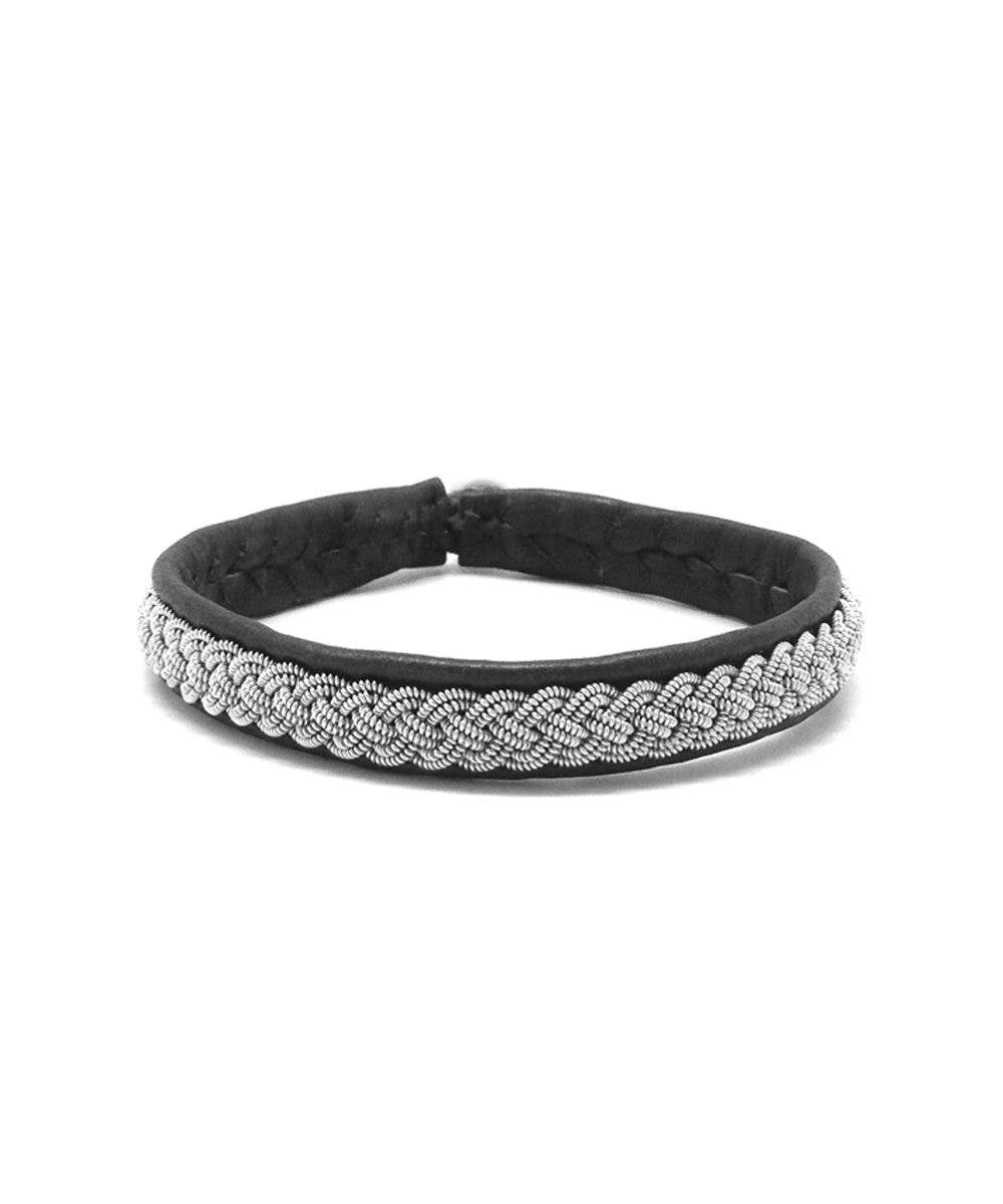 Black Double 4 Bracelet - Hanna Wallmark