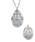 Shanti pendant in silver - Catherine Michiels