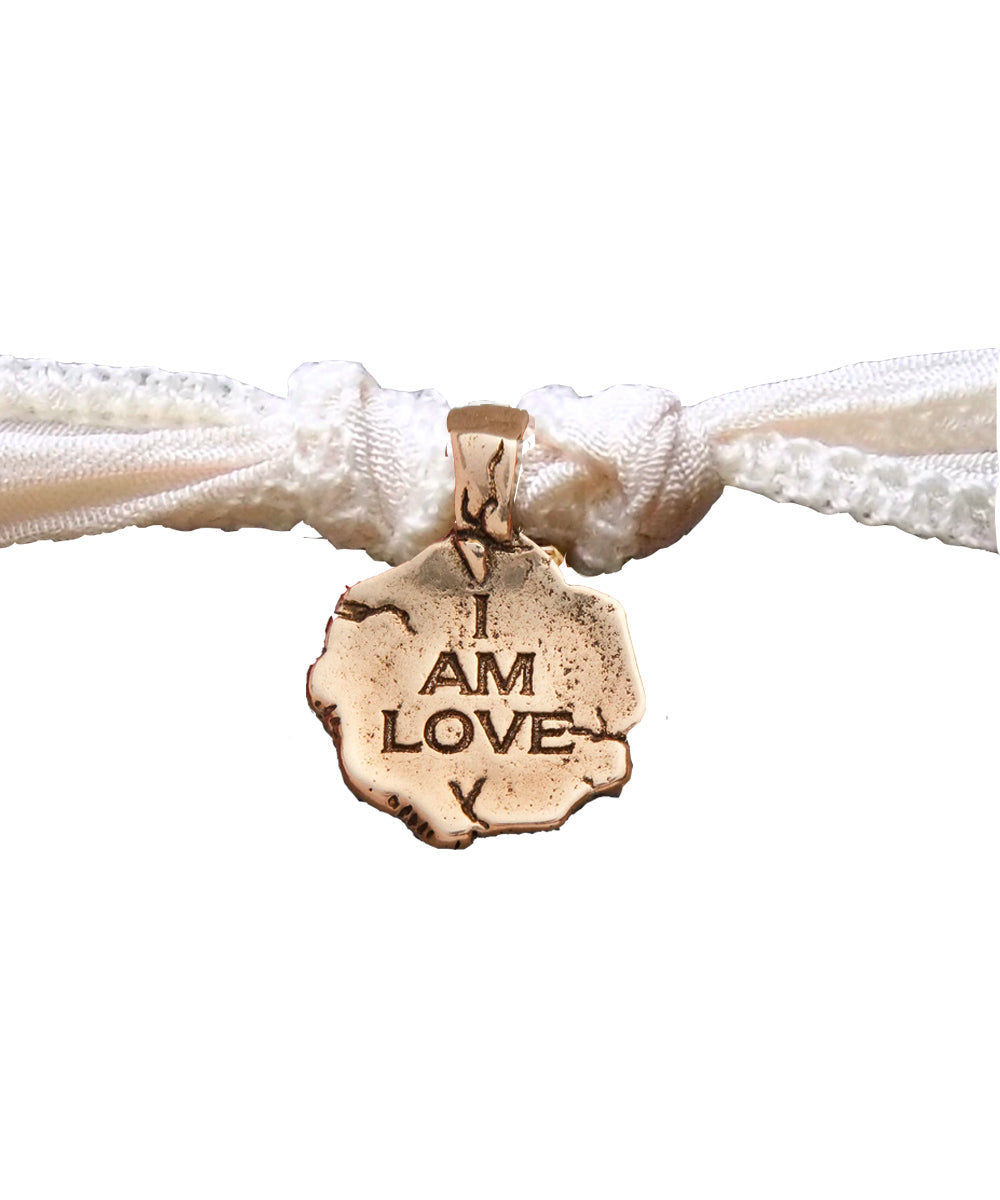 Bracelet charm I Am Love en bronze - Catherine Michiels