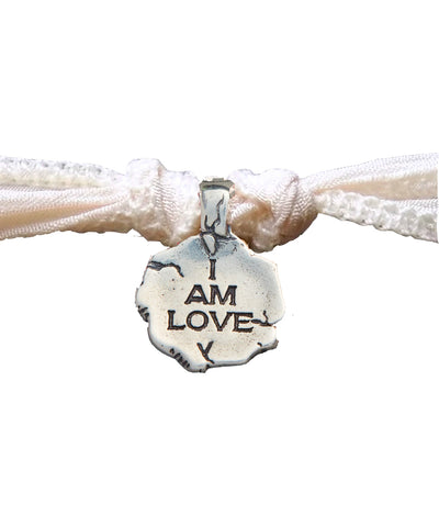 Bracelet charm I Am Love en argent - Catherine Michiels