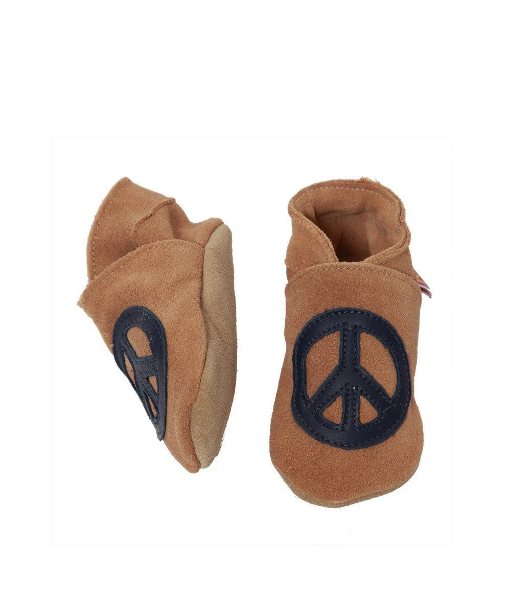 Peace baby booties - Star