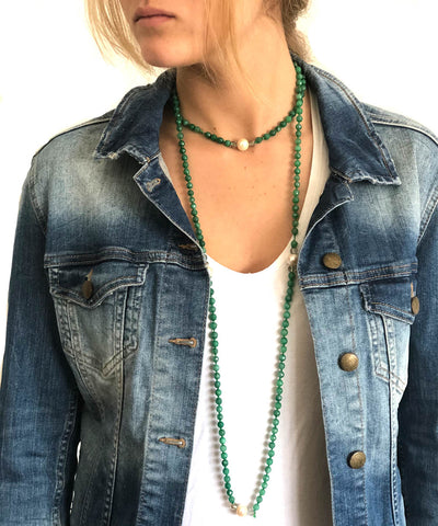 agate collar-green-focused