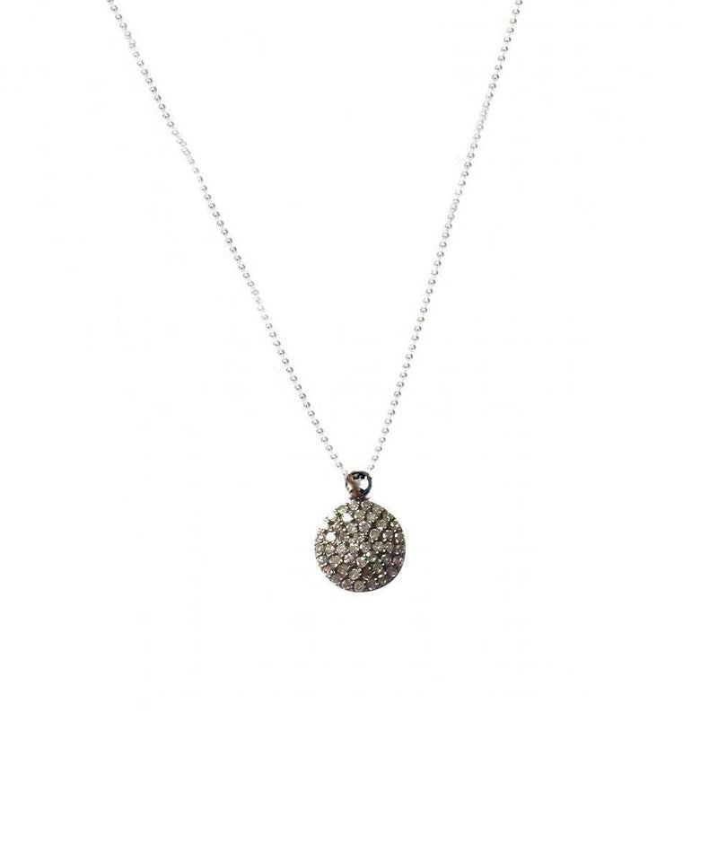 Round Diamond Round Pendant - Catherine Michiels