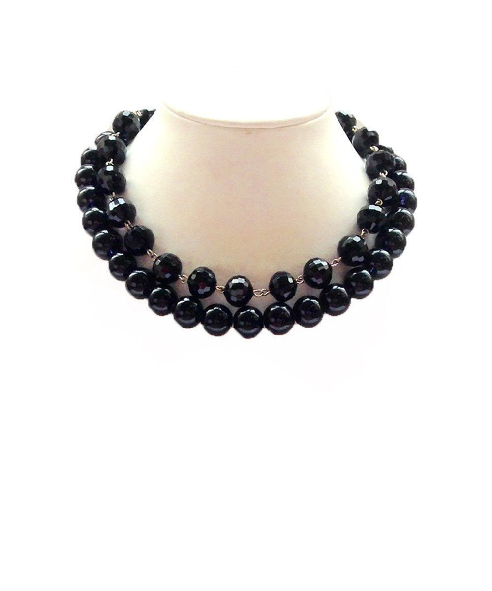 choker-necklace-ras-de-cou-pearls-black FlotB