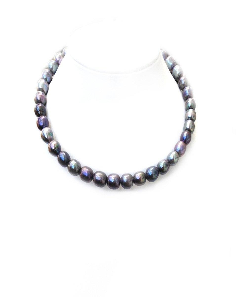 choker-pearls-gray Editions LESSisRARE Pearls