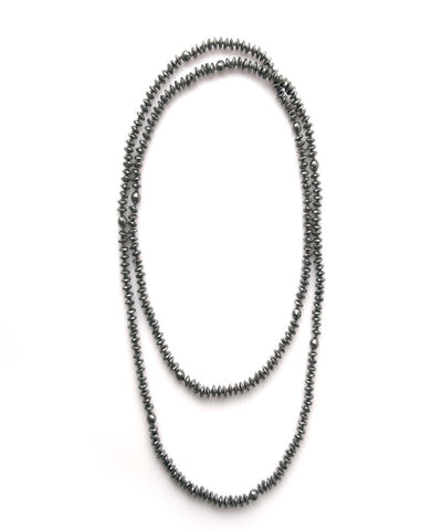 Necklace with hematite beads - Fonsi