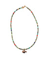 African turquoise Keola necklace - Catherine Michiels