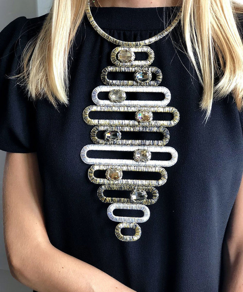 Manhattan Bib Necklace - Boks & Bum