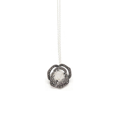 Metron-pendant-in-pink-pearl-silver-and-marcasite