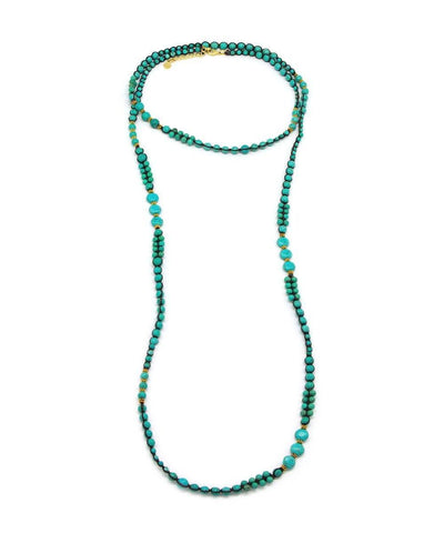necklace, turquoise beads