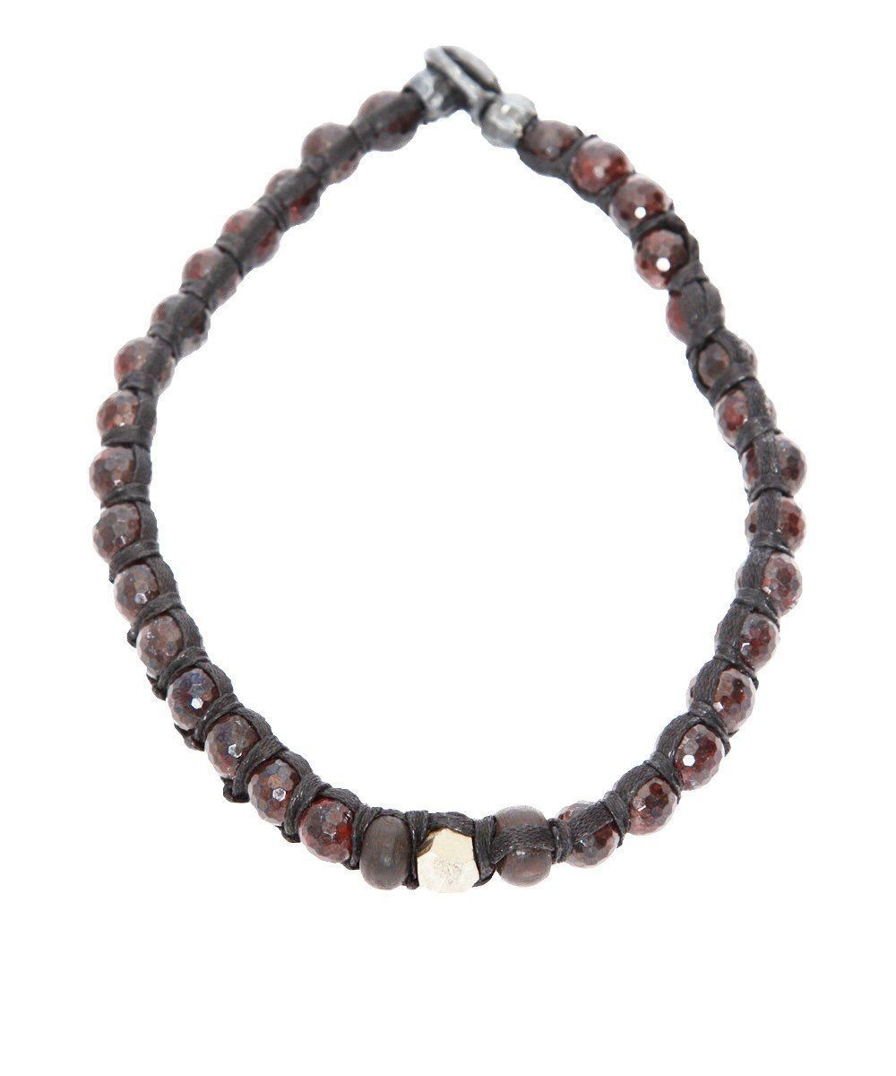 Choker in garnets and iron pyrites - Vanessa Dee