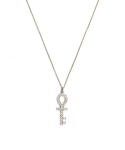 Bernard-Delettrez-collar-cle-en-gold-and-diamond-cross-ankh