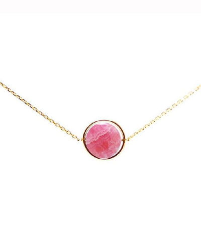 rhodochrosite necklace my little by Paola zovar