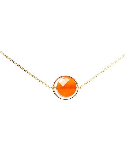 carnelian necklace my little by Paola zovar