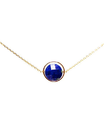 necklace Lapis lazuli my little by Paola zovar
