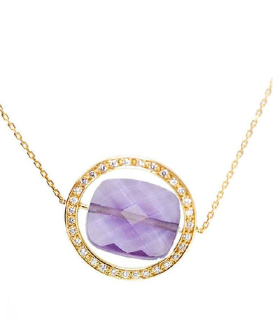 collier amethyste paola zovar grand regard diamants