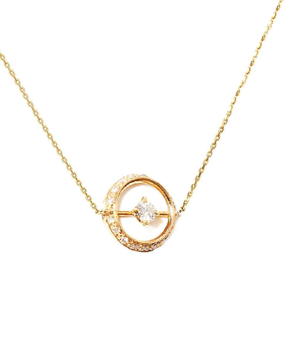 necklace one diamonds yellow gold of paola zovar