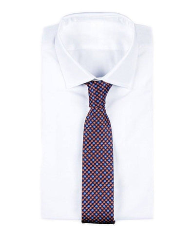 tie-achil-in-silk-blue Editions LESSisRARE worn
