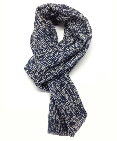Abstract marine scarf - Editions LESSisRARE