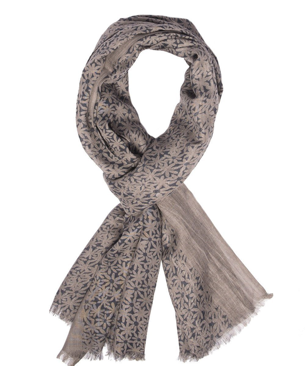 Flowers scarf - Editions LESSisRARE