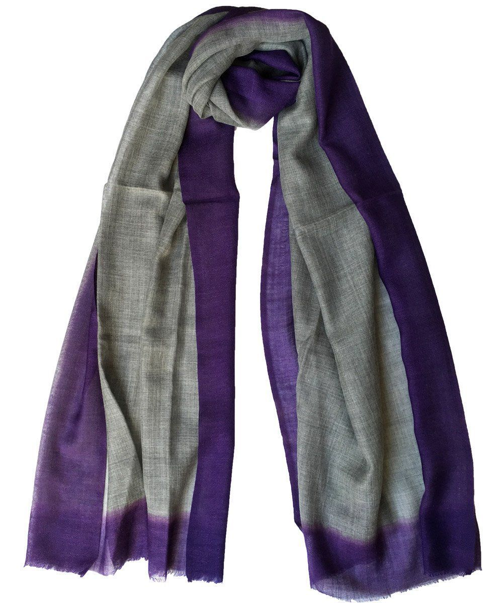 echarpe-tie-and-dye-gris Editions LESSisRARE
