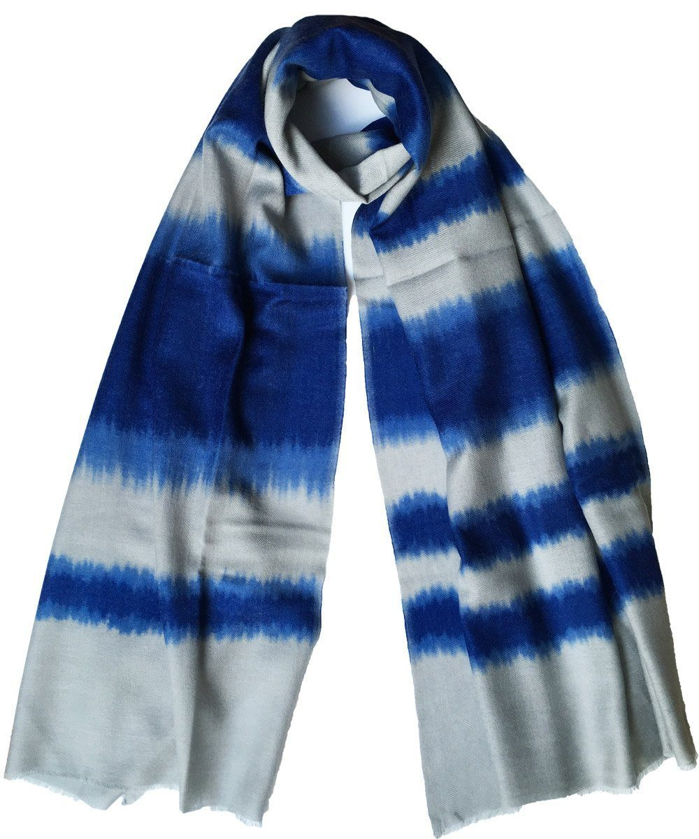 Tie and Dye wool scarf - Editions LESSisRARE