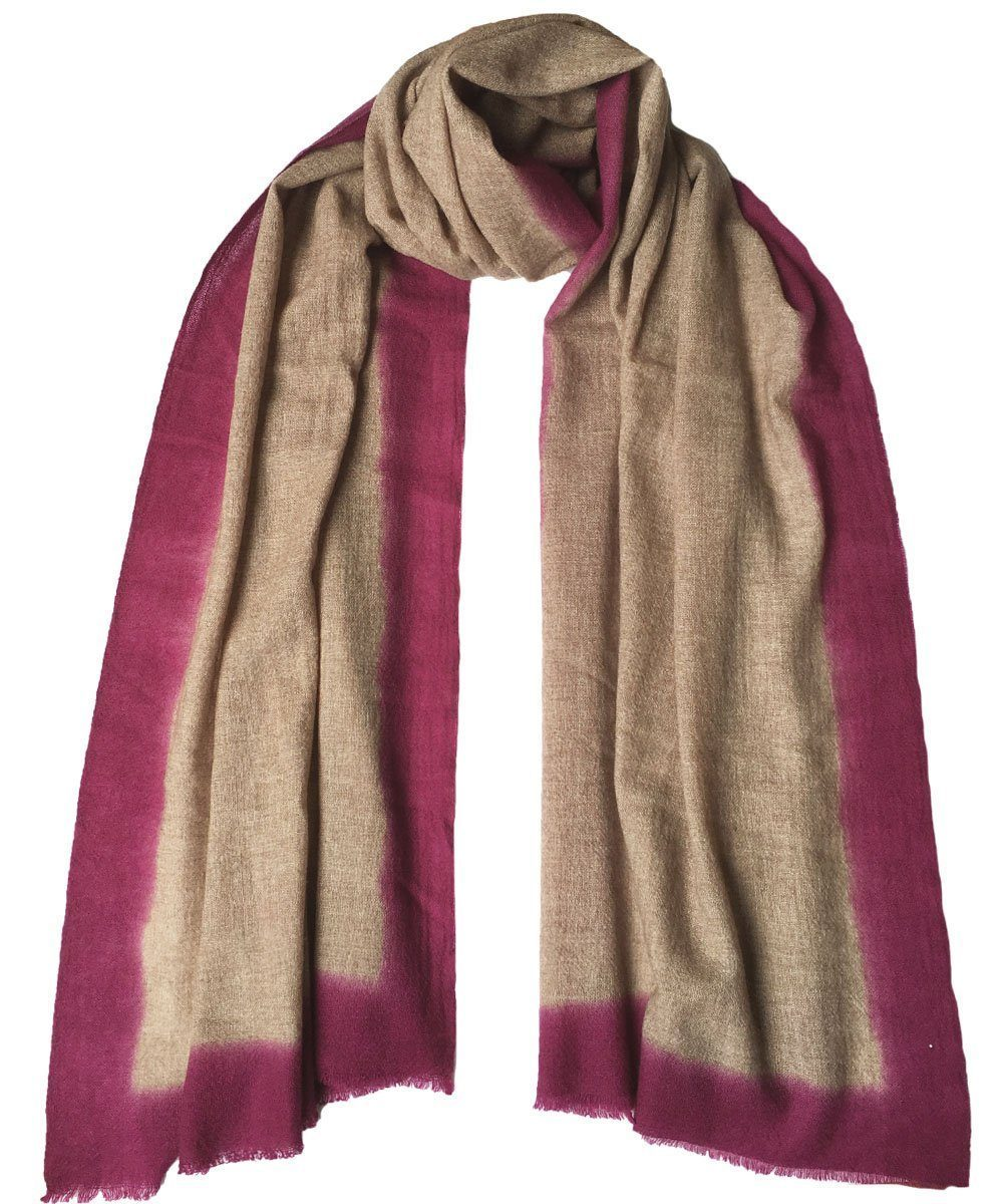 Cashmere scarf Tie and Dye - LESSisRARE Editions