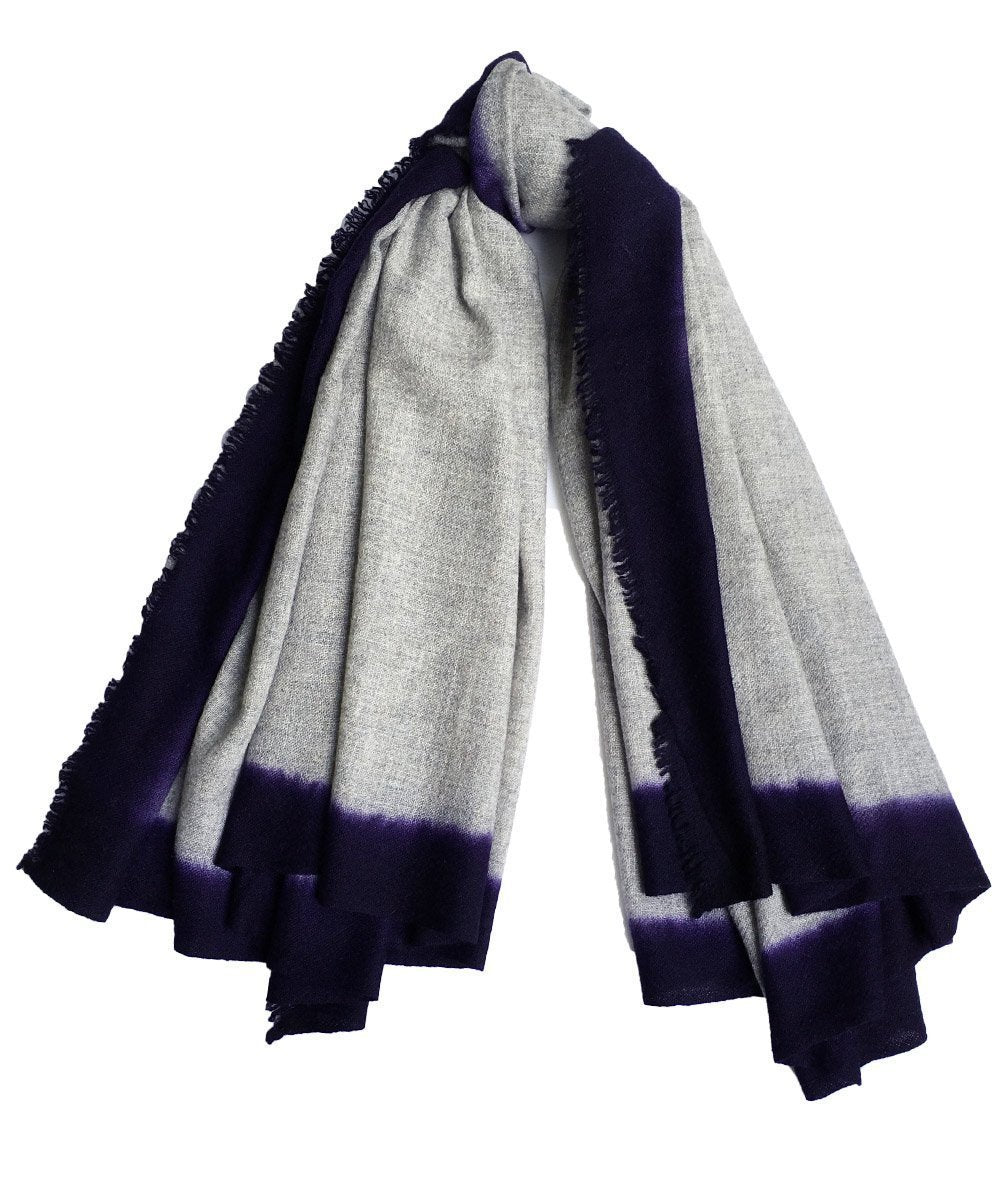 scarf-cashmere-gray Editions LESSisRARE
