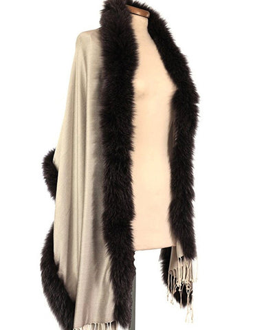 fox-fur-fox-reversible-pink-ecru Editions LESSisRARE worn 1