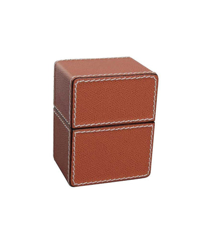 Box for leather bhome designer card games