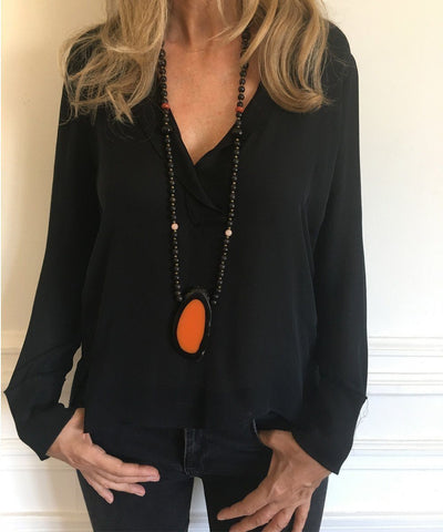 jewels-of-mala-collier-bois-noir-pendentif-orange