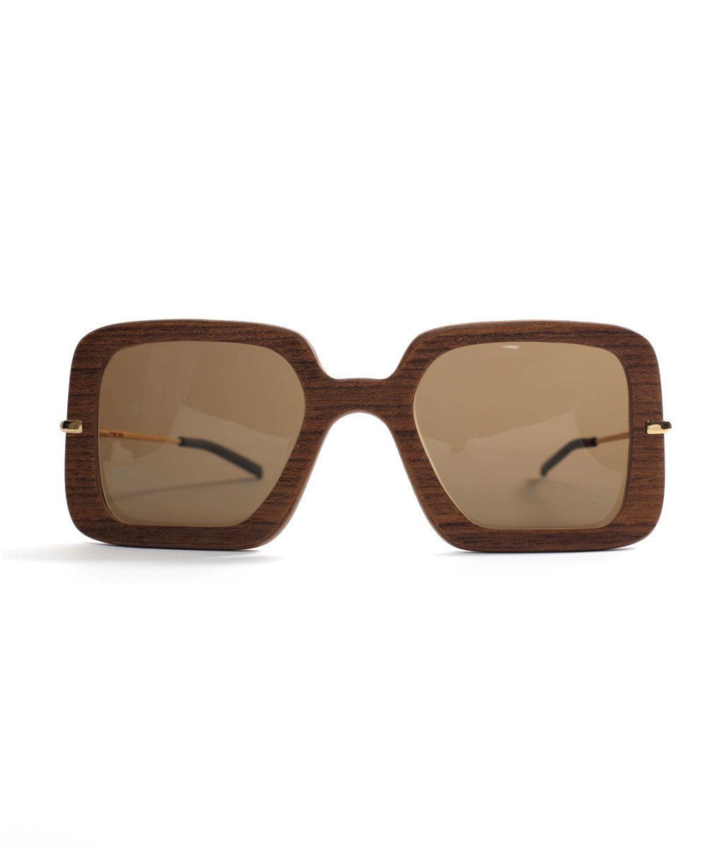 Recycled sapelli wood sunglasses - IWood