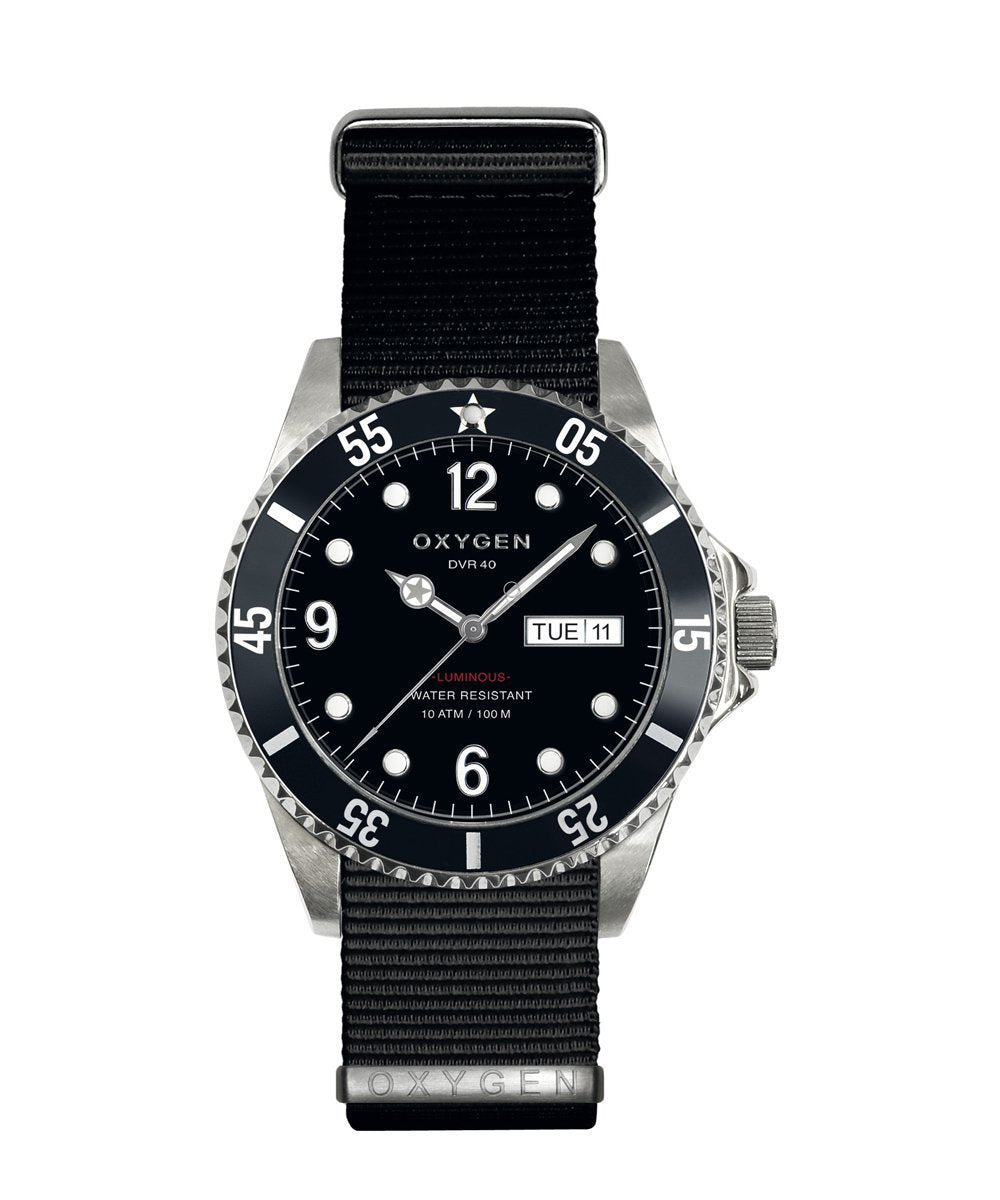 Moby Dick 40 Exchange Diver Watch - oxygen watch