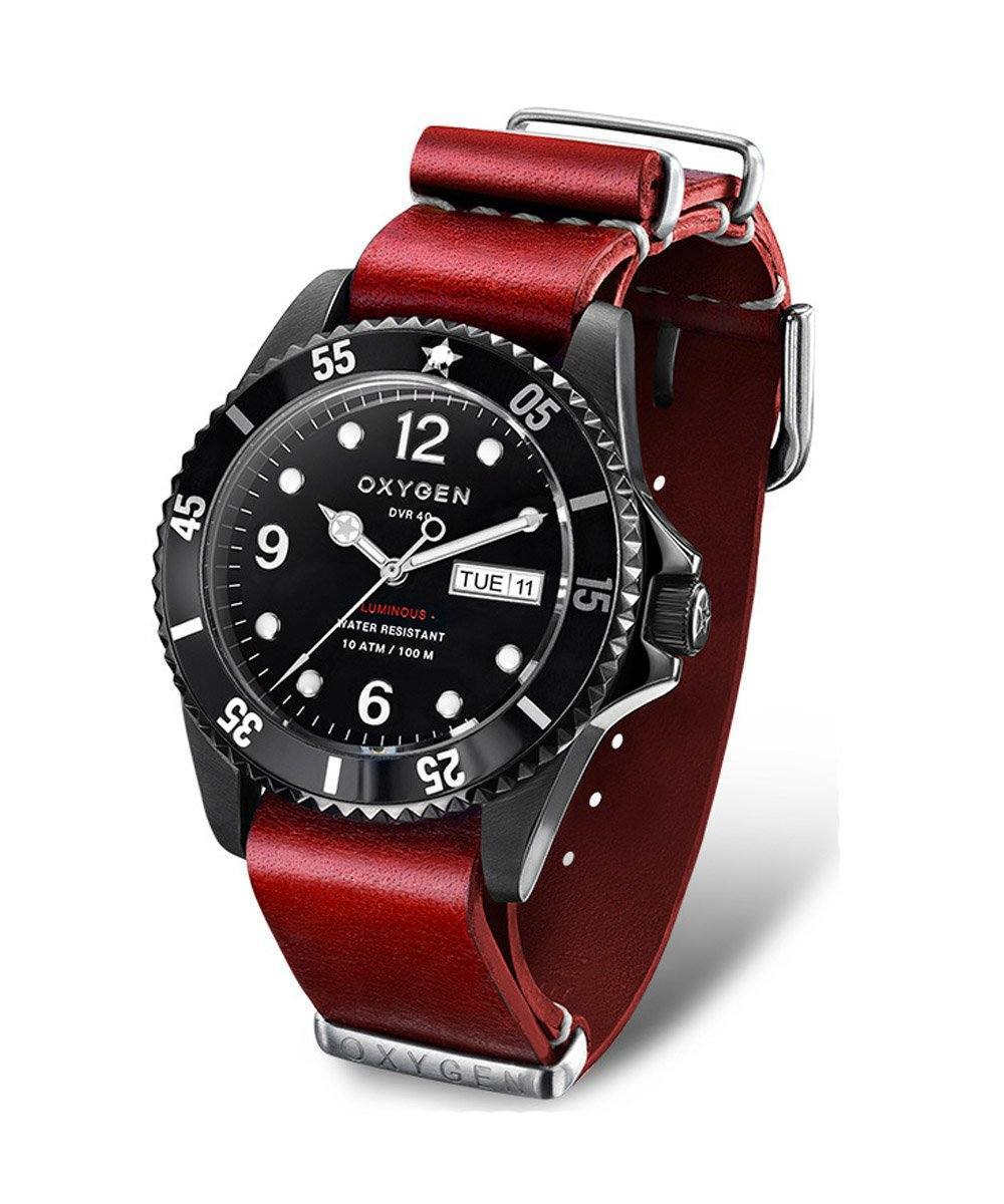 show oxygen-watch-strap leather red Dial-noir.jpg