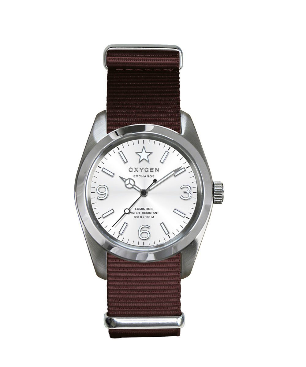 Exchange Sport Paris 38 brown watch - oxygen watch