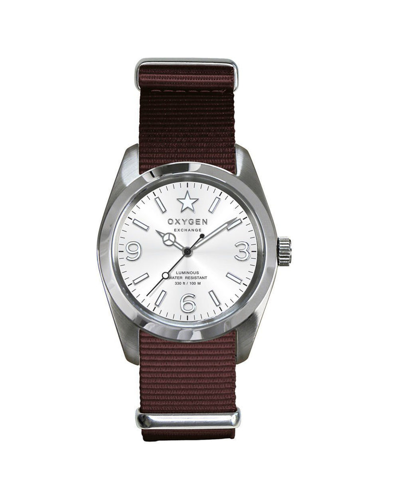 Montre Exchange Sport Paris 38 marron - oxygen watch