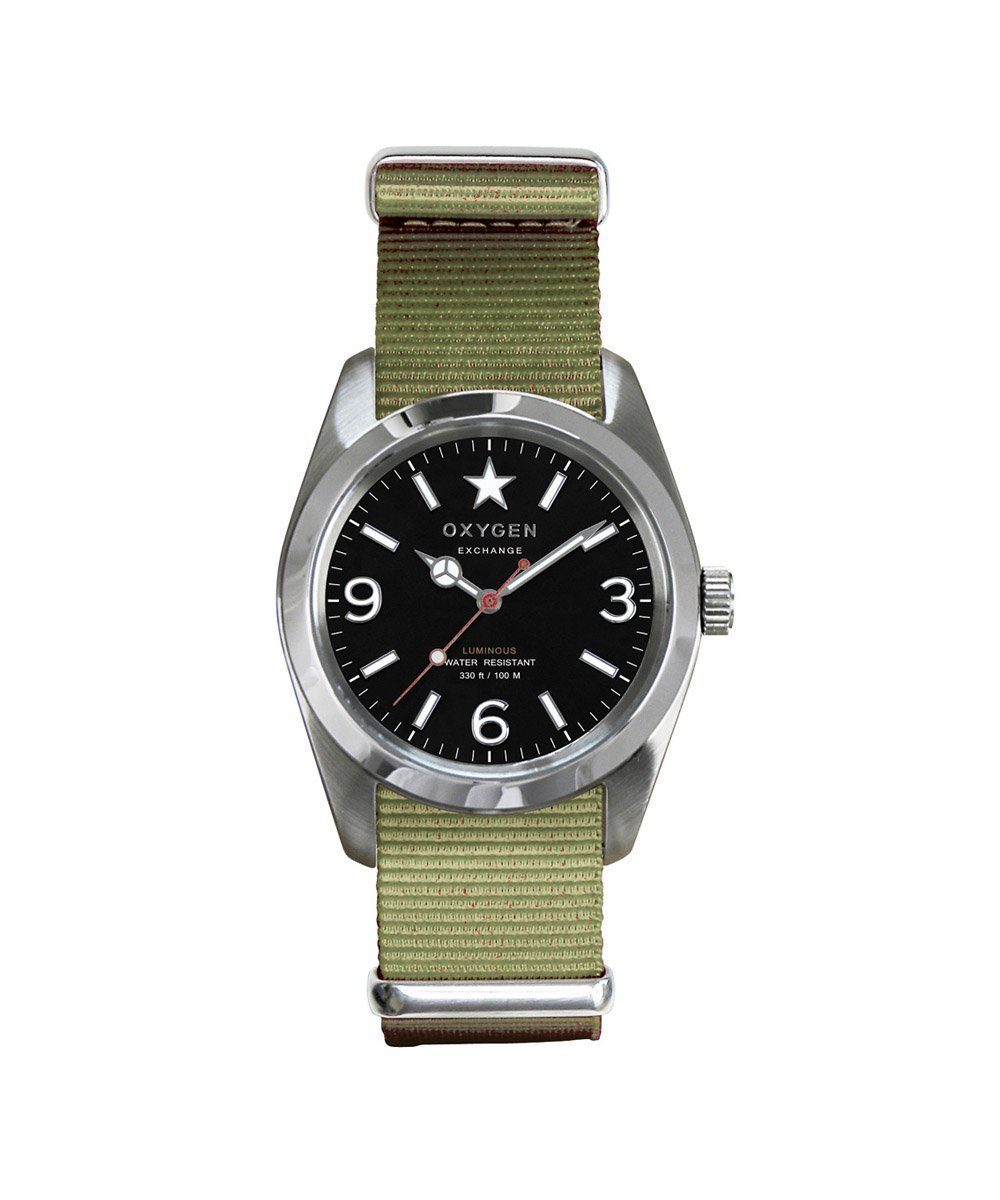 Oxygen Exchange Sport Watch Washington 34 olive - oxygen watch