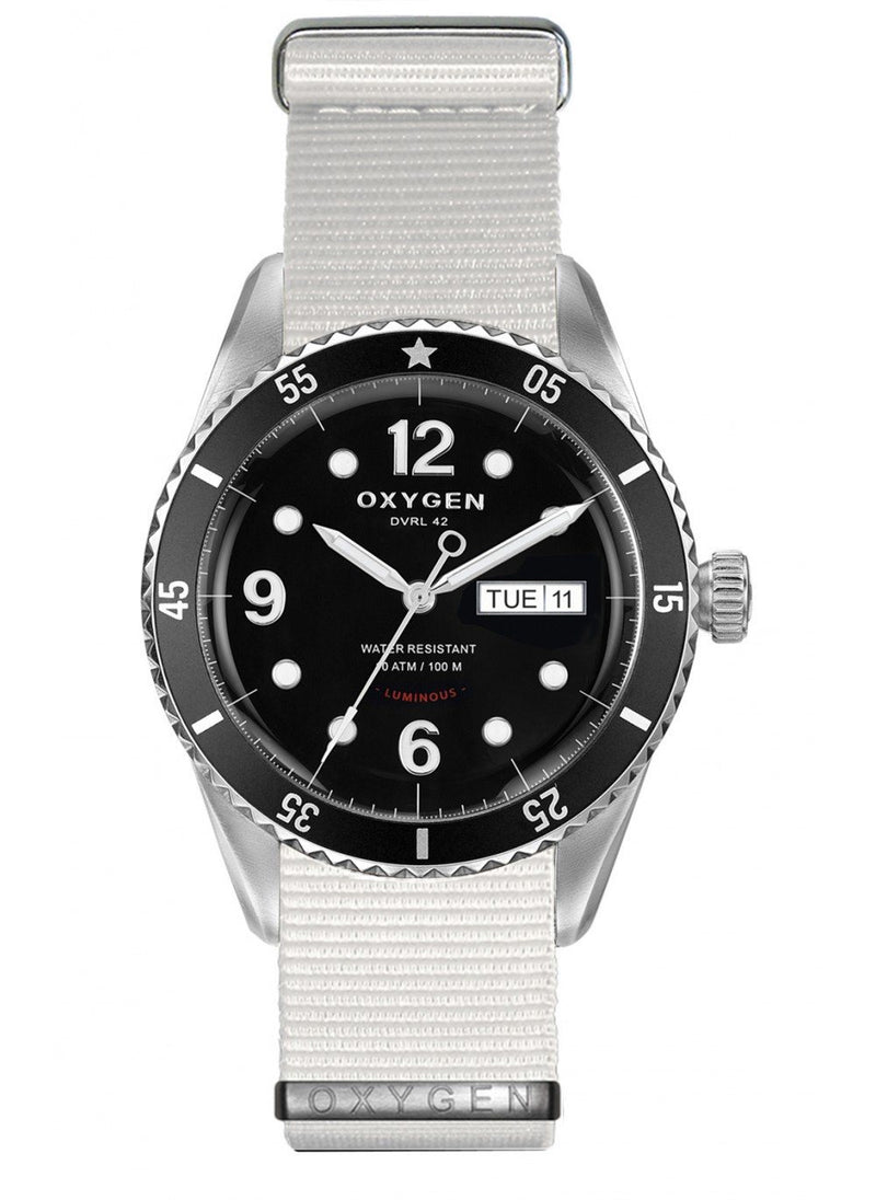 Automatic Diver 42 Moon Watch Nato Bracelet - Oxygen Legend