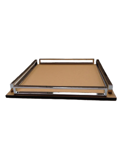 tray-leather beige