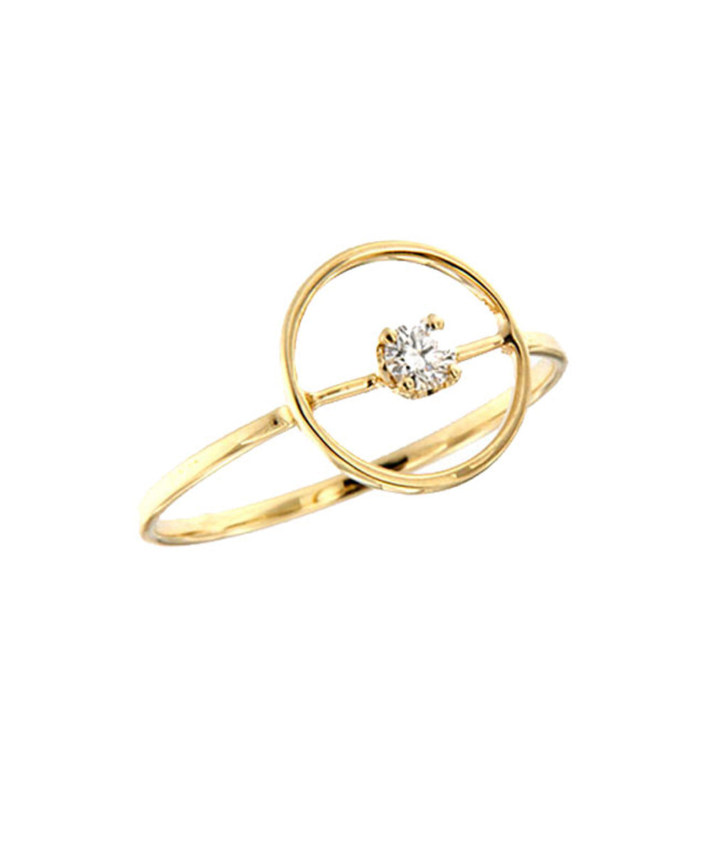 Diamond ring 0,10 ct - Paola Zovar