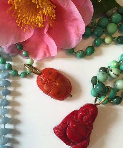 france-thierard-necklace-opal-green-buddha-coral 1