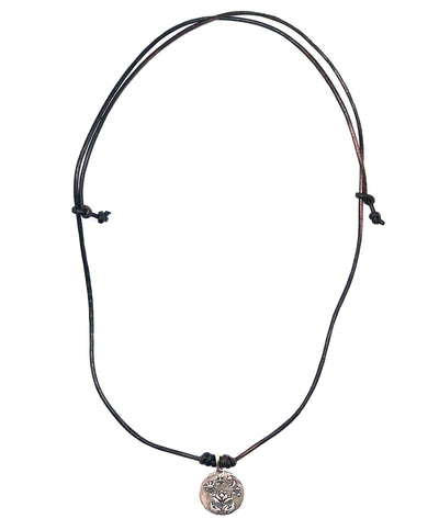 Necklace Life silver - Catherine Michiels