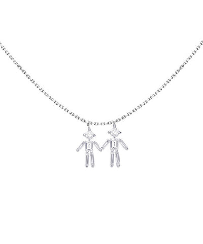 little-ones-paris-collar double-customizable white-gold-and-diamond