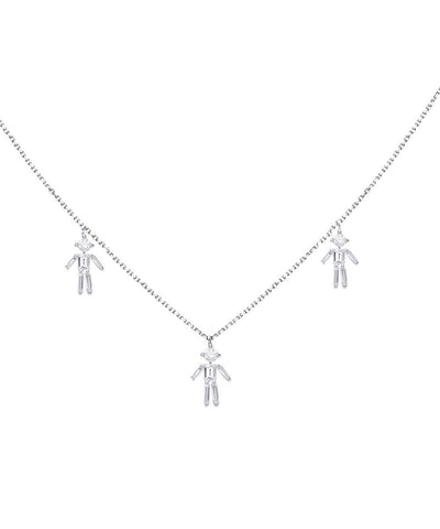 little-ones-paris-collar triple-customizable white-gold-and-diamond