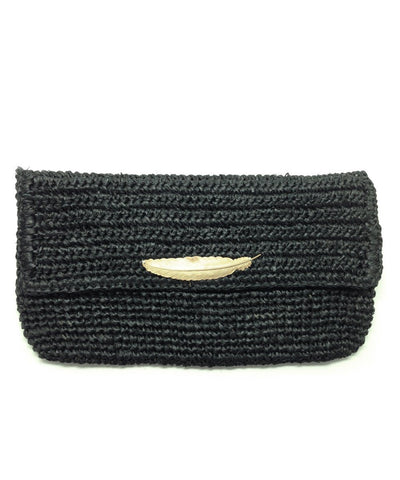 pouch-straw-black Editions LESSisRARE