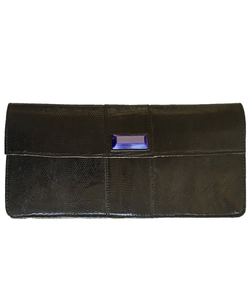 Black lizard clutch - Editions LESSisRARE