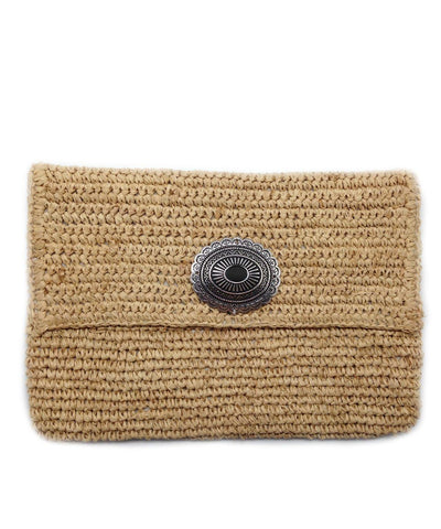 pouch-in-straw-natural-summer Editions LESSisRARE
