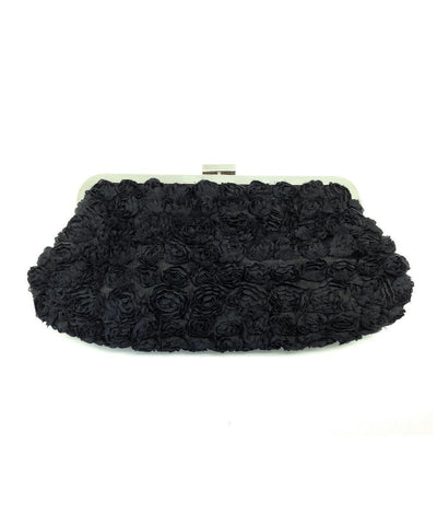 pouch-black-with-small-rose Editions LESSisRARE